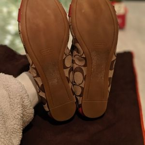 Coach Shoes - Coach flats 8.5